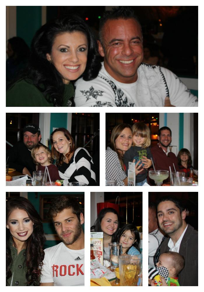 Birthday celebration with friends