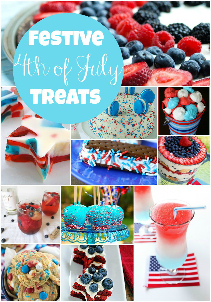 Festive 4th of July Treats |Southern Made Blog