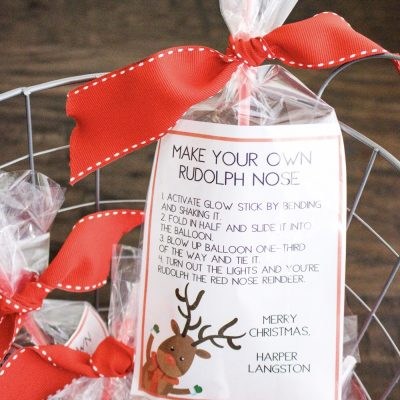 Rudolph the Red-Nosed Reindeer Holiday Gift Bags