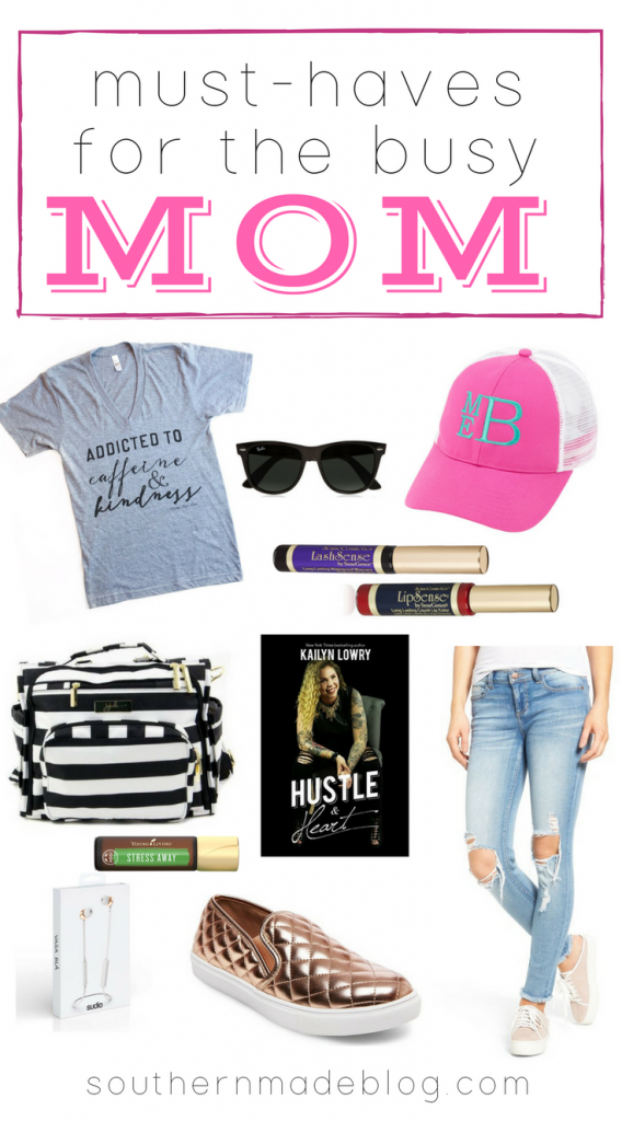 Must-Haves for the Busy Mom | Southern Made Blog | Plus, a virtual book tour with Kail Lowry for her book Hustle and Heart!