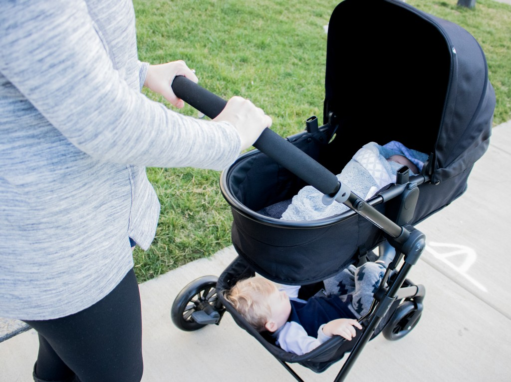 Cabin Fever + Evenflo Travel System Review
