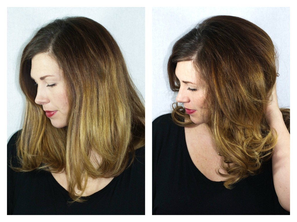 Heat Free Hair Curling Tutorial   Southern Made Blog