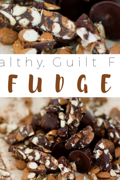 Healthy, Guilt Free Fudge