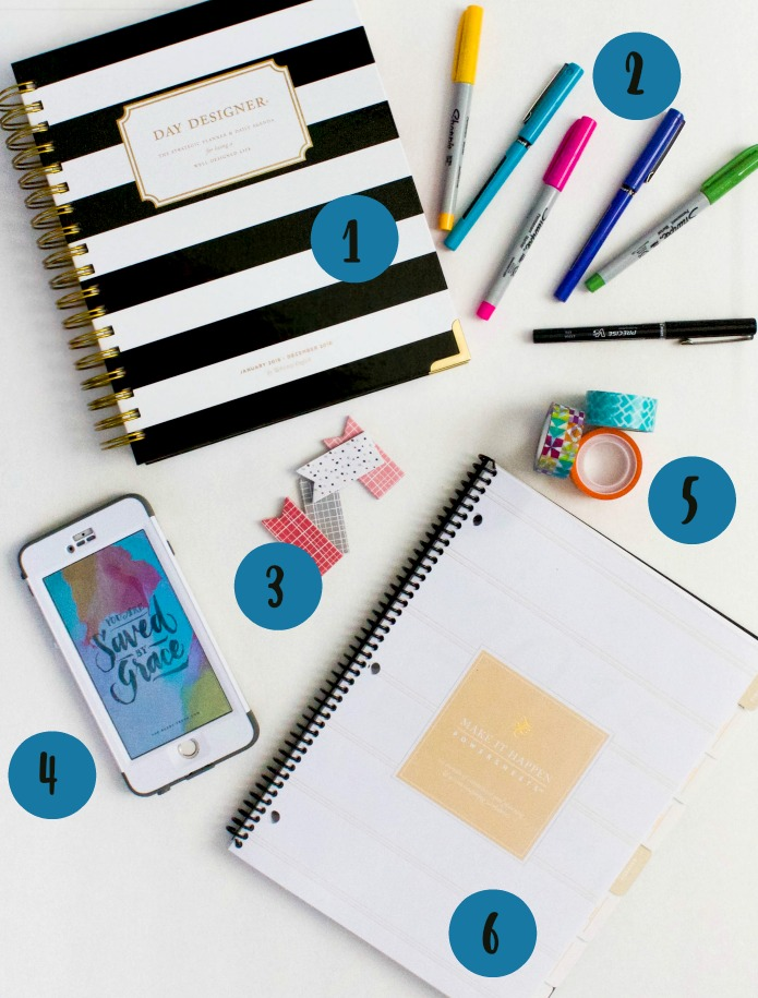 6 Ways to Stay Focused and Organized in 2016 | Southern Made Blog