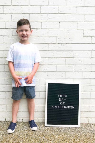 A Letter to My Kindergartener / Southern Made Blog
