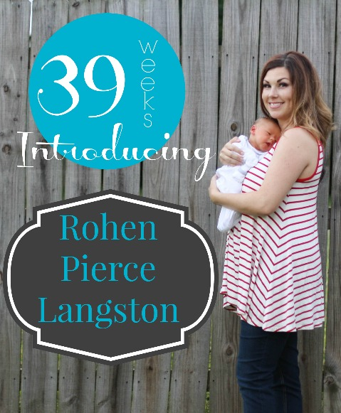 Southern Made Blog   Introducing Baby Boy