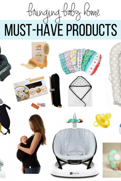 Bringing Baby Home | Must - Have Products - Southern Made Blog